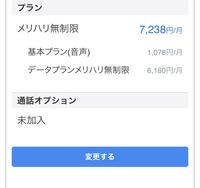 メリハリ無制限プランに今月から入ったんですが、7238円って書いてあります。 これは電話の基本料金も含まれてますか? 電話はほとんど使わないんですが
