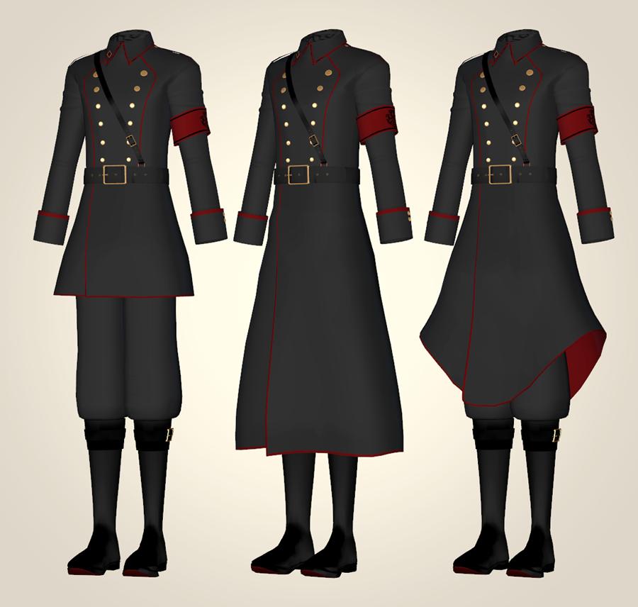こちらの画像は軍服なのですけども、軍服などでよく見る金のボタン?のようなものは一体なんなのでしょうか... 全く分からないのでどうかご回答お願いします