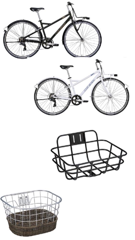 高校生の方に質問です。今中1で、高校生まで使える自転車を探しています。今高校生の方が今買うならどの色の自転車にどのカゴを付けますか?