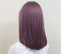 ブリーチなしでこのカラーに染まりますか? 今まで染めた経験はありません。 色落ちも気になります。  また、ブリーチなしで染まる紫カラーは他にありますでしょうか?