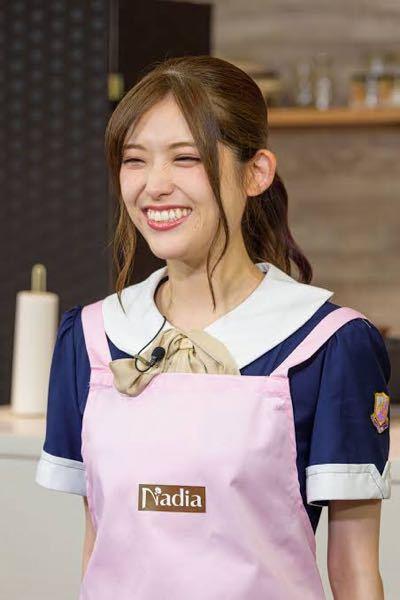 男性に質問。 エプロン姿で、笑顔で笑っている女優・松村沙友理さんが可愛いと思いますか?