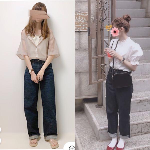 高3女子です。今度好きな人と初めて私服で会うのですが、どちらのコーデの方がいいでしょうか? アドバイス等もありましたらお願いします。