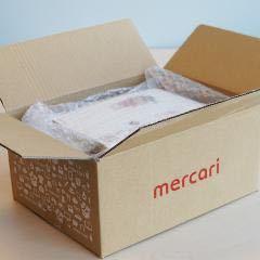メルカリ この箱サイズは、縦ーcmで、横ーcmで、厚さーcmのものでしょうか? また、どの配送方法ですか?