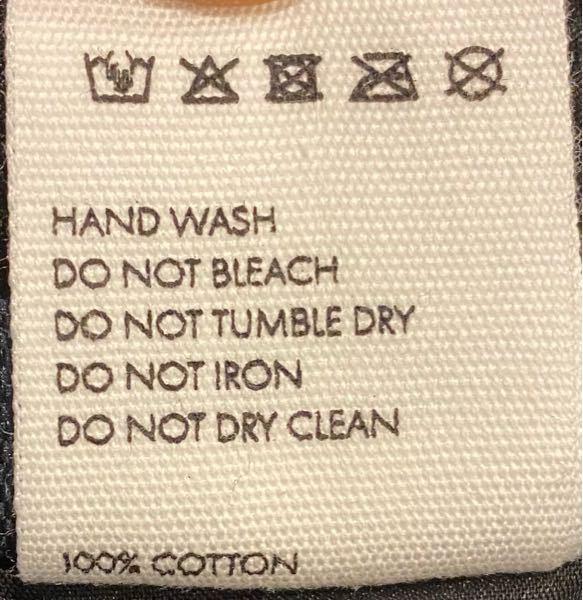 100%コットンのバケットハット(帽子)の手洗いってどうやってやればよいのでしょうか? 具体的な手順を教えていただけるとありがたいです。