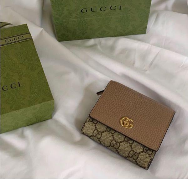 このGUCCIの財布の品番を教えてください。
