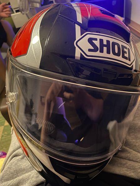 このSHOEIのヘルメットの型番や名前を教えてください!