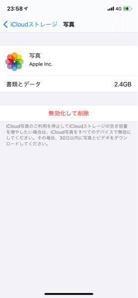 iCloudのストレージが無いので写真、動画を共有アルバムに全て移しました。そして、移した写真、動画を削除しました。 しかし、肝心のiCloudストレージがへらないので、設定→iCloud→スト...