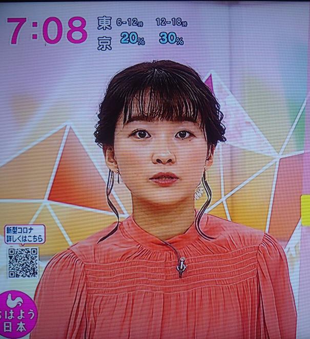 安藤結衣NHKアナの存在、土曜日の朝に元気パワーを貰えましたか。