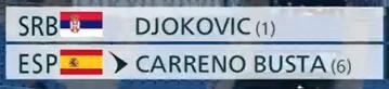 オリンピックのテニス試合みてる人に質問です。 画像にある名前の横のカッコ内数字何ですか