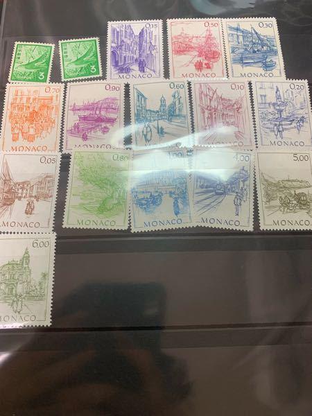 この切手はおよそどのくらいの年代のものか教えてください。