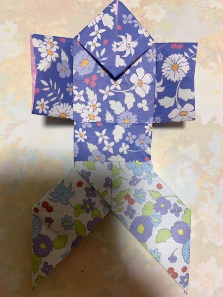 急に折り紙が織りたくなって、これを織ったんですが、こんな織り方ってありましたっけ?また、あったらこの織り方の名前をなんて言うか教えてください。