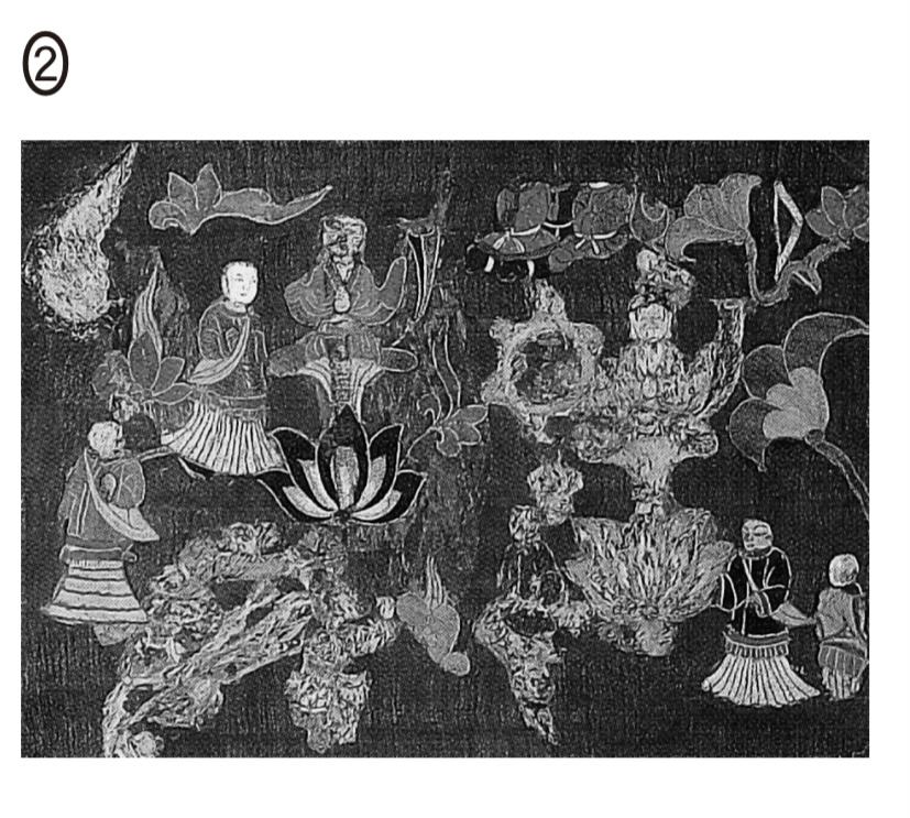 高3生です。2018年センター追試日本史Bの問題で、こちらの絵の名前がわかる方がいたら、教えてください。よろしくお願い致します。 正解以外の選択肢についても調べる課題があって、苦戦しています、、、