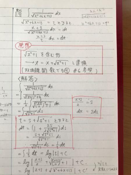 数3積分の問題。 この問題の置換で解答の2行目の(x+3)²の部分を2tanθで置換する方法ではできないのですか?