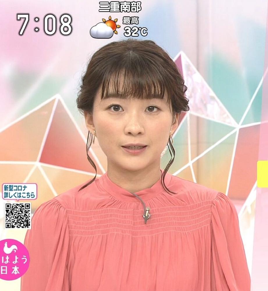 質問です。 1.昨朝の安藤結衣アナ、ピンクのトップスは素敵でしたか? 2.可愛さ度は如何でしたか(100点満点で)? (◆danさん用◆)