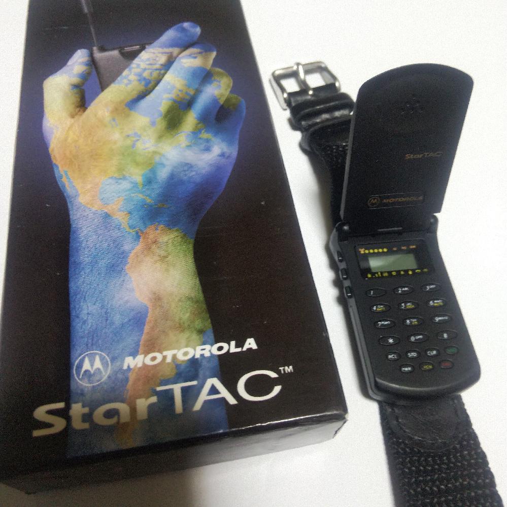 昔買ったモトローラですがこの腕時計のような物が何なのか覚えてません。 これは何ですか?