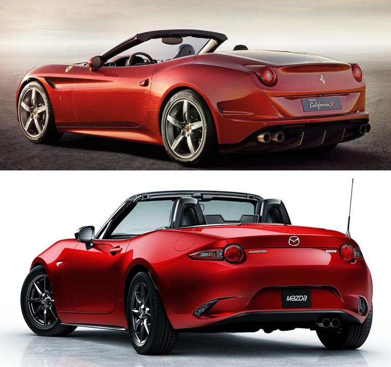 マツダとフェラーリ以外にも赤が多い自動車メーカーってあります?