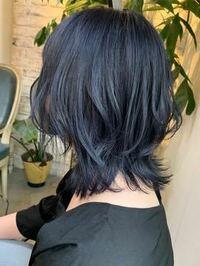 黒髪からイルミナカラーというやつでこの色に出来ますか? 調べたらブリーチなしでのブルーが得意な美容師さんもいらっしゃるようで、、