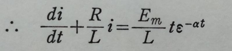 この微分方程式の解き方と答えを教えてください