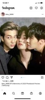 BTS テヒョン、RM、J-HOPEが映っているこの画像は雑誌か何かの撮影でしょうか? ご存知の方、どうぞよろしくお願いします。
