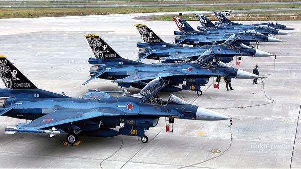 F-15よりもF-2戦闘機の方がかっこいいのは何故?