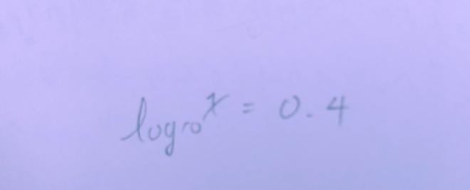 対数にまた何かしらの底の対数をとるとどうなるのでしょうか? 例えば写真の式に10を底とする対数をとったらどうなりますか??
