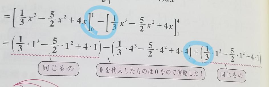 積分の問題です なぜ後ろも−にならないのか教えてください!