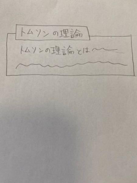 パワーポイントについての質問です。 以下に画像を添付します。 <トムソンの理論とはー>と書かれた大きい枠線が<トムソンの理論>と書かれた小さい枠に被らないようにするに...