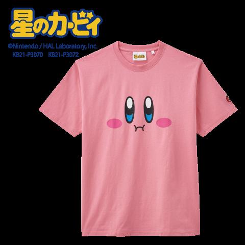 女性に質問です これはカービィのTシャツなのですが、カービィのほっぺた部分が、ちょうど女性のおっぱいの膨らみでカービィのほっぺたが膨らんでるように見えるらしいです。 どう思いますか?