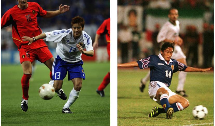 サッカーの日本選手で、当時の柳沢敦並みに裏への抜け出し等のオフザボールが上手くて、当時の岡野雅行並みに足が速い選手っていますか?