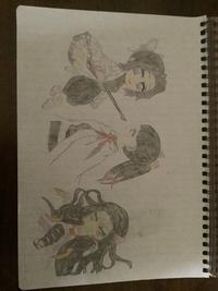 イラストを描きました。評価お願いします。小学5年生女です。