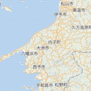 愛媛県松山市〜宇和島市の間を移動する際、国道56号経由と国道378号経由のどちらが多いですか? またJR予讃線の内子経由と伊予長浜経由もどちらが多いですか?