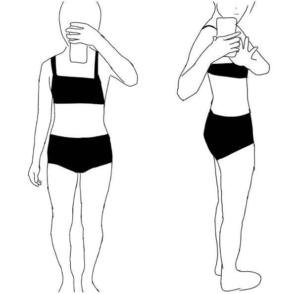 骨格診断してください。 それで、できるならば 痩せ方など教えて頂ければ 嬉しいです。