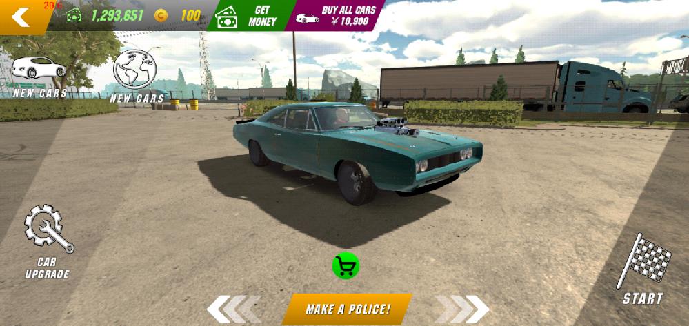 カーパーキングで車を売ったのですが。 車を売るためのボタンが緑色に光っていてどうしてらいいですか?
