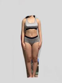 この体型どう思いますか 太いですか 細いですか