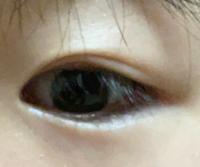 緊急です⚠︎⚠︎⚠︎ これは瞼が伸びていますか...?? ナイトアイボーテで癖付けしています。