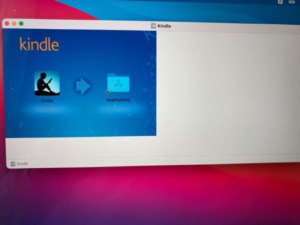 至急 AmazonのKindleについて。 今さっきAmazonでとある本を購入し、完了しました。Macで読むつもりなので、「Mac用のKindleを開く」を押してダウンロードしたのですが、こんな画面が出てきます。またアプリの方では 何もありません。助けてください。どうすれば良いんですか?