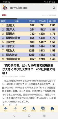 関西学院大学は推薦が多すぎるから就職のときに推薦フィルターで落とされるとか言う人がいるのですが、関学の有名企業400社への就職は、減少どころか増えています。 やはり関西学院大学は先見の眼のある素晴らしい大学なのでしょうか?  西日本ナンバーワン私大ですか?