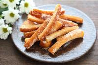 食パンの耳の甘いサクサク揚げは好きですか? (^。^)b
