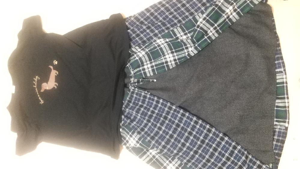 兄のファッションセンスについて。 私の兄(30歳)が添付の写真のファッションで外に行こうとしてるのですが、家族としてダサいからやめて!と言いました。 そしたら大喧嘩。 もともと兄にセンスはないので普段はマネキン買いなのですが、これと一緒に買った上着が洗濯中のため、適当なシャツを着たそうです。 これで外出とかださいですよね? まあ家族とはいえ口を出し過ぎなのかもですが、この際一般的な声を兄に見せたいと思います。 兄は普段からスカートとかを履いてるので「男がスカート」という点は家族的には問題ないので、あくまでこの上下がファッション的にどうかを教えて欲しいのです。