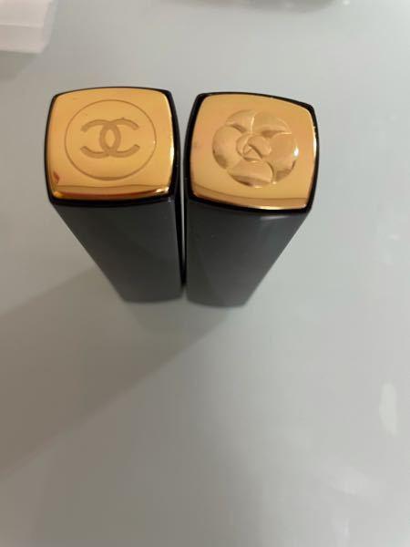 CHANELのリップをネットで買いました。公式サイトとかではなくヤフーショッピングなどです。リップの本体の金色の部分の下がCHANELのロゴと薔薇のロゴとがありますがどちらも本物ですか? ちなみに薔薇の方は607でCHANELの方は227です。
