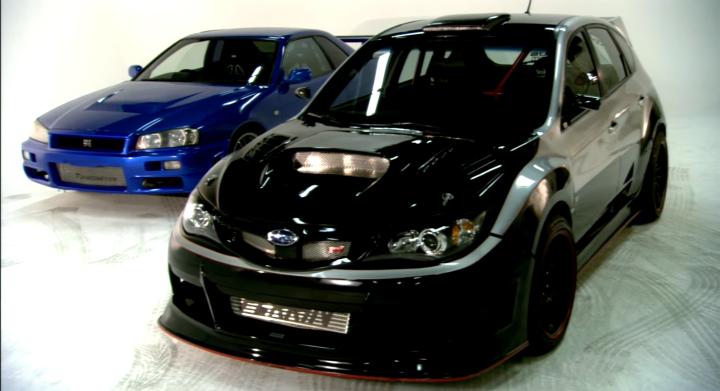 GRB(6速MT・AWD)とER34(5速MT・FR)どっち速いと思いますか? ポール・ウォーカー搭乗車種2台