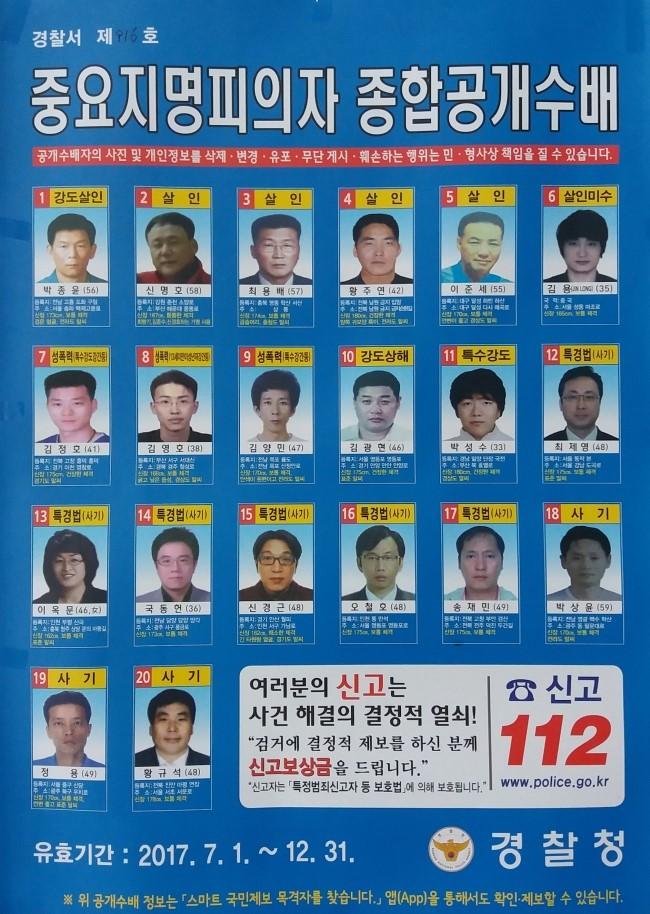 韓国の指名手配ポスターなんですが、殺人、殺人未遂、作業というのは読めましたが他の細かい内訳とか意味が分からなくて、分かる範囲で訳していただけますか? 女性の詐欺師のやったこととか、よく分かりません。ボイスフィッシングですかね?