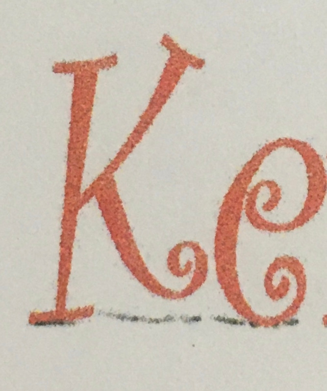 この書体は、何という書体かわかる方、教え下さい。