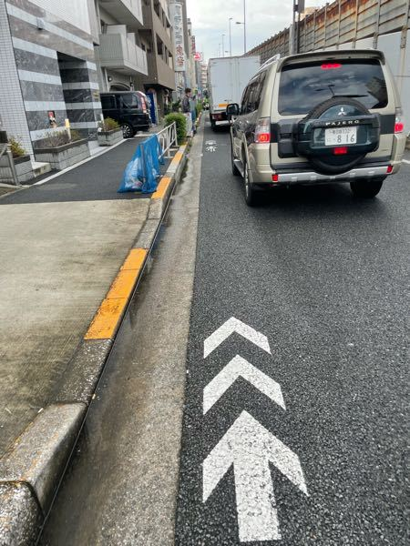 結局このマークって何なのでしょうか? もし自転車専用道路のマークなら前にあるトラックのせいで進めません このマークに意味が無いなら歩道を走れって意味でしょうか? 歩道が狭いので歩行者からしたら危ないので控えたいのですが