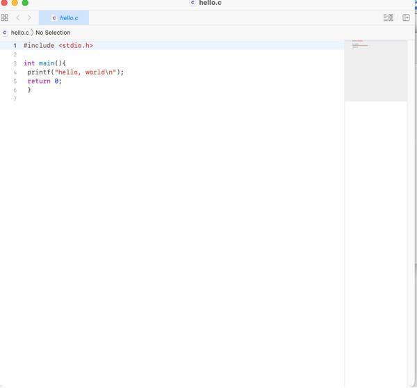 Macbookでc言語を勉強し始めました。 エディタはAtomを使ってます。そこでatomで作成したファイルをデスクトップのフォルダに保存してもう一度開くと写真のようになります。これは何なのでしょうか?