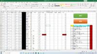 マクロ初心者です。 マクロ、VBAについての質問です。 運賃が820円で且つ、都道府県が秋田県の場合は透明にするという VBAを組みたいのですが、どうやってもそれ以外の条件扱いと なってしまい赤色の背景になってしまいます。 誰か対処方法をおしえてください。  Sub color_PH()    Dim i As Integer, j As Integer  For i = 2 To Cell...
