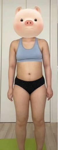 155cm61kgの恥ずかしい体型です… ぽっちゃり(デブ)なのはわかってます。 写真を見てどこをどう1番に痩せるべきでしょうか。  また、写真を見て厳しい言葉をください。。ほんとに痩せたいのにやる気が出なくて…