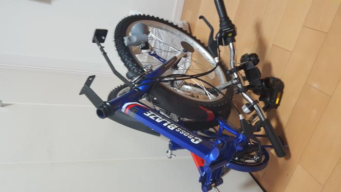 AmazonでMy Pallas mtb22折畳自転車を購入したのですが この状態から どうやって開けば良いのですか? なんか線が繋がっていて 無理やりすると キレそうで怖いです 宜しくお願いします