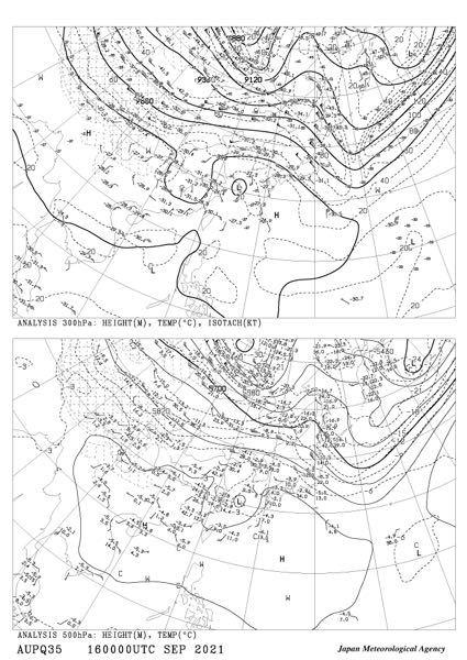 500hPa~300hPaの高層天気図にある西から大きく張り出してきている高気圧はなんですか?