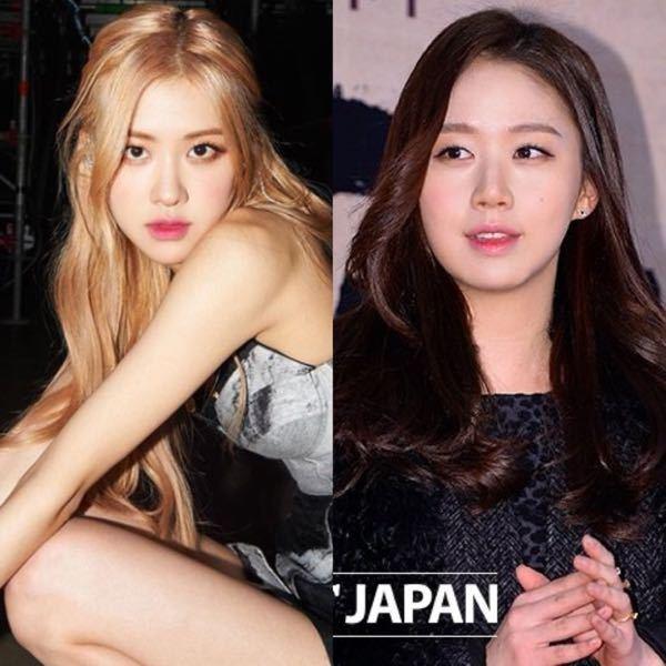 韓国の女優コソンヒさんとBLACKPINKのロゼさん顔が凄い似てませんか?
